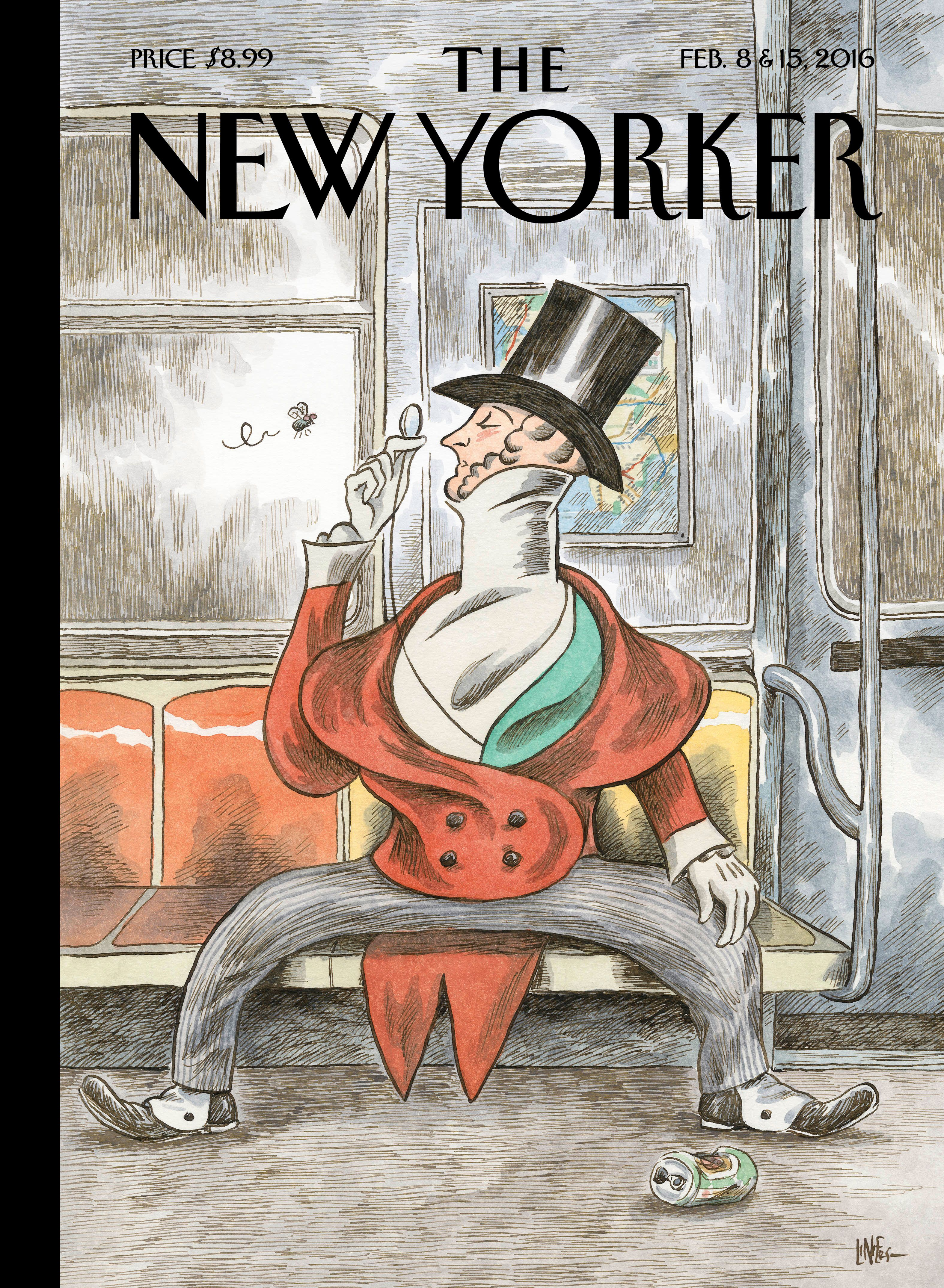 The New Yorker February 8 15 2016 Issue New Yorker Covers The New Yorker Book Cover Art