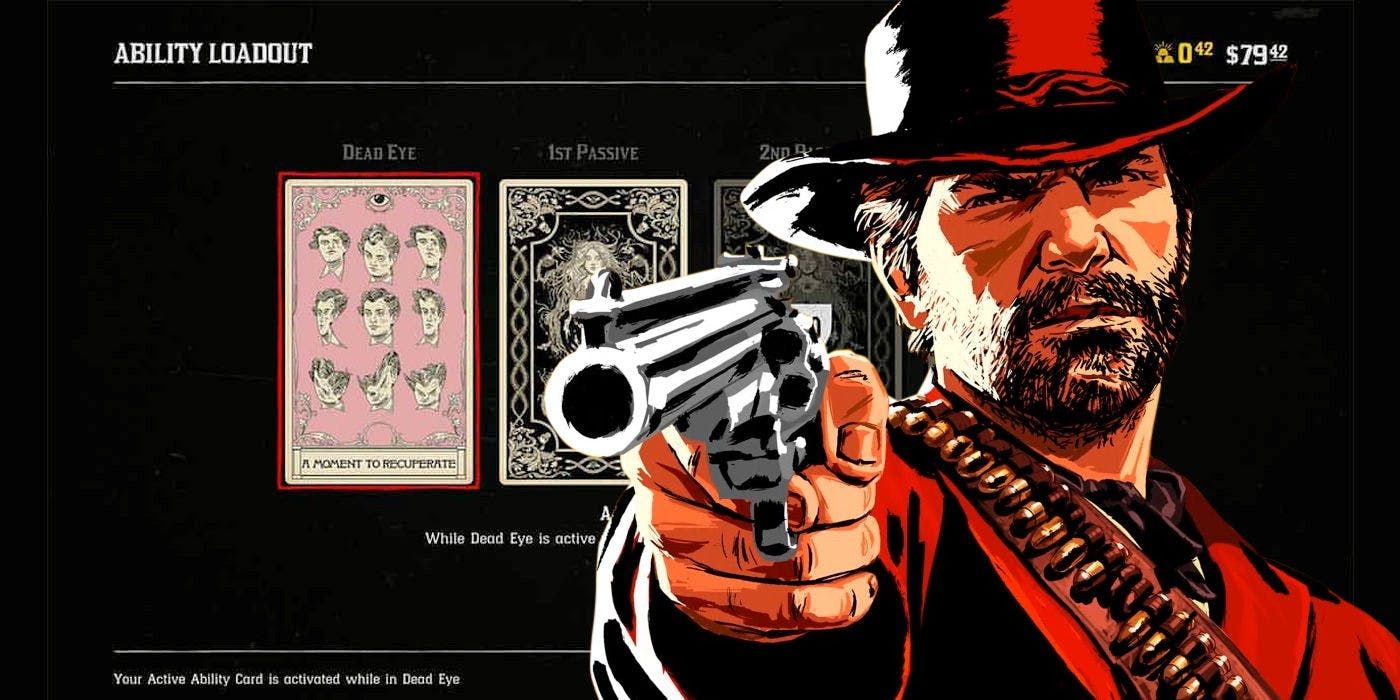 Red Dead Online Ability Cards Guide Dead Eye & Passive