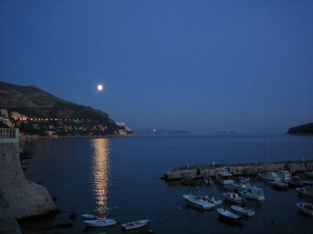 Moonrise in Dubrovnik