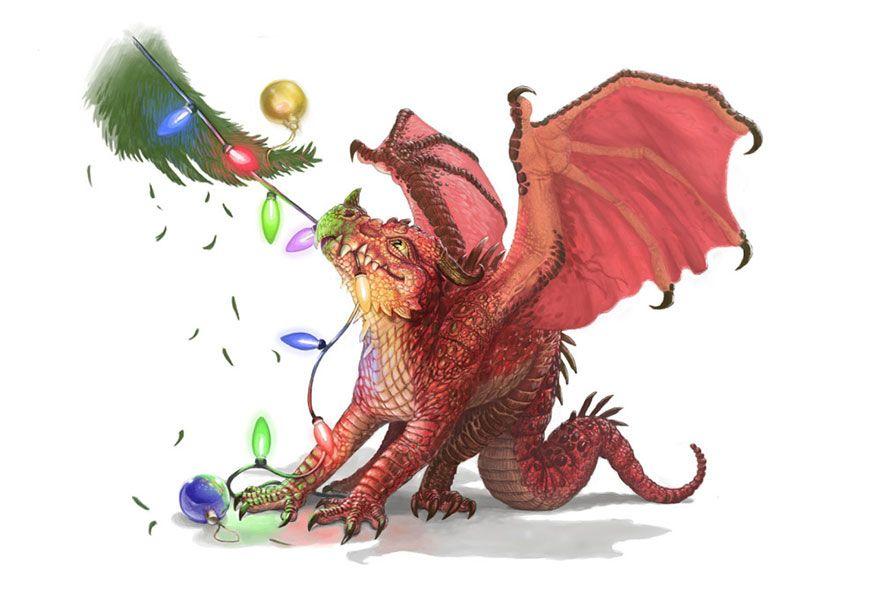 Картинки с прикольными дракончиками