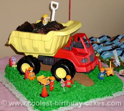 Coolest Bob the Builder Cakes on the Webs Largest Homemade Birthday