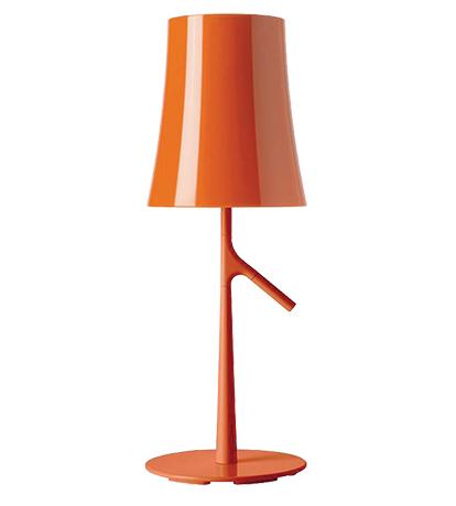 Birdie lamp orange table lamps lighting the conran shop uk