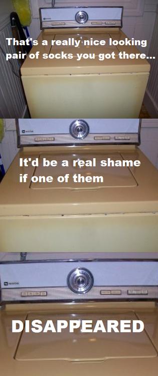 Damnit washing machine! You had one job!