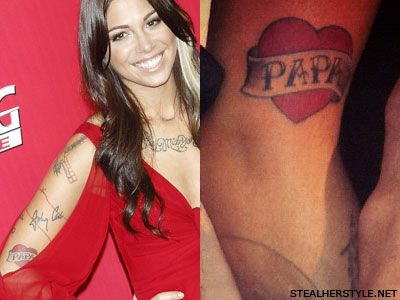 Christina Perri papa tattoo | Tattoos | Pinterest ...