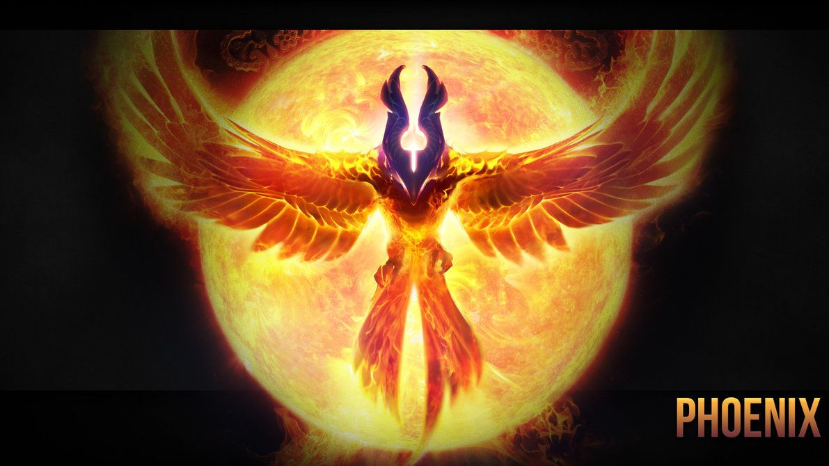 Phoenix Wallpaper Dota 2 By Imkb Dota 2 Icarus The