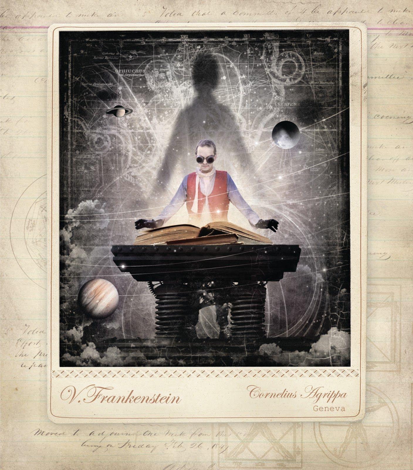 Steampunk Scholar: Steampunk Poe and Steampunk Frankenstein