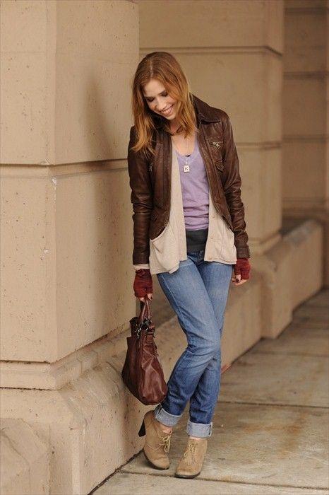 Banana Republic Leather Jacket featured on blog Sidewalk Ready.