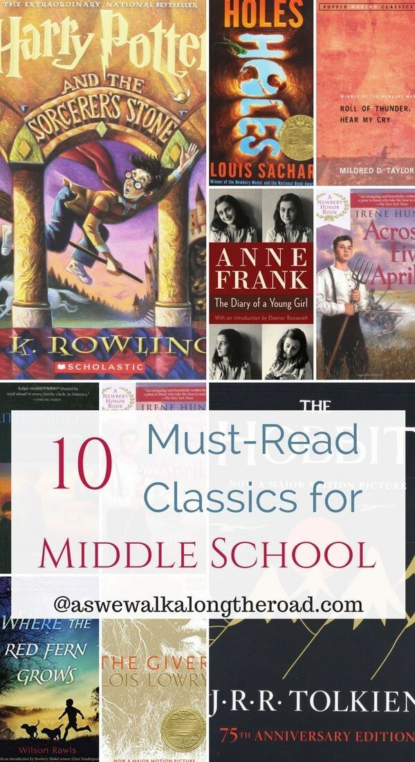 10 Must Read Classics for Middle Schoolers