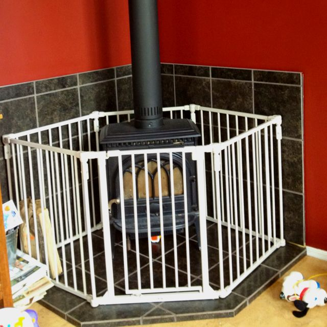 Safety Cage Around Fireplace For Kids Wood Stoves Home