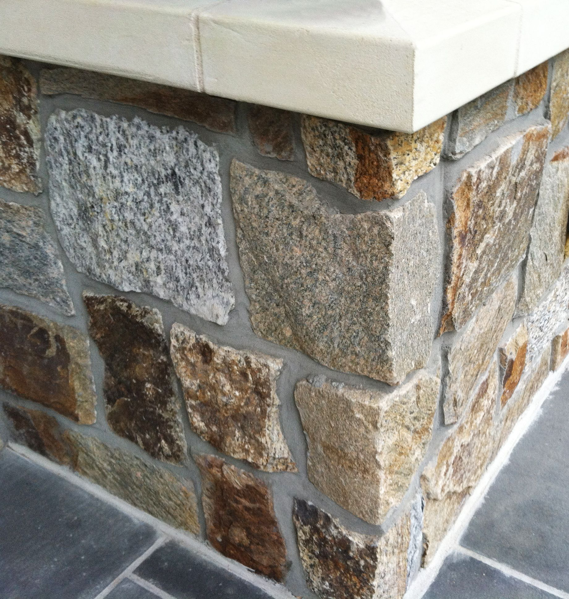 Why leave concrete when you can have natural stone veneer