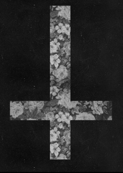 This is the Petrine Cross, symbol of the cross of Saint Peter, who was crucified upside down ...