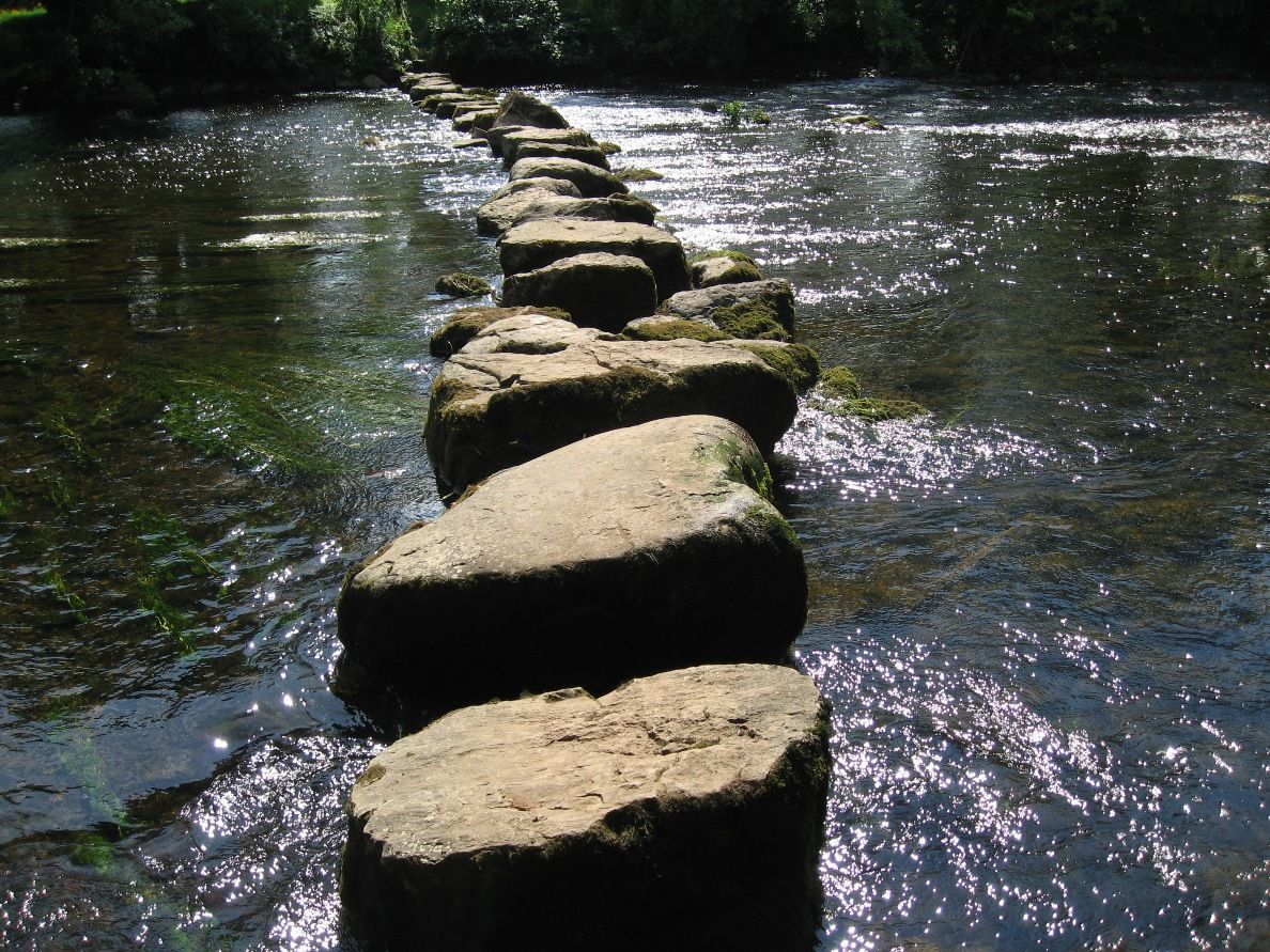 Youth ministry is a stepping stone stone for Rock stepping stones landscaping