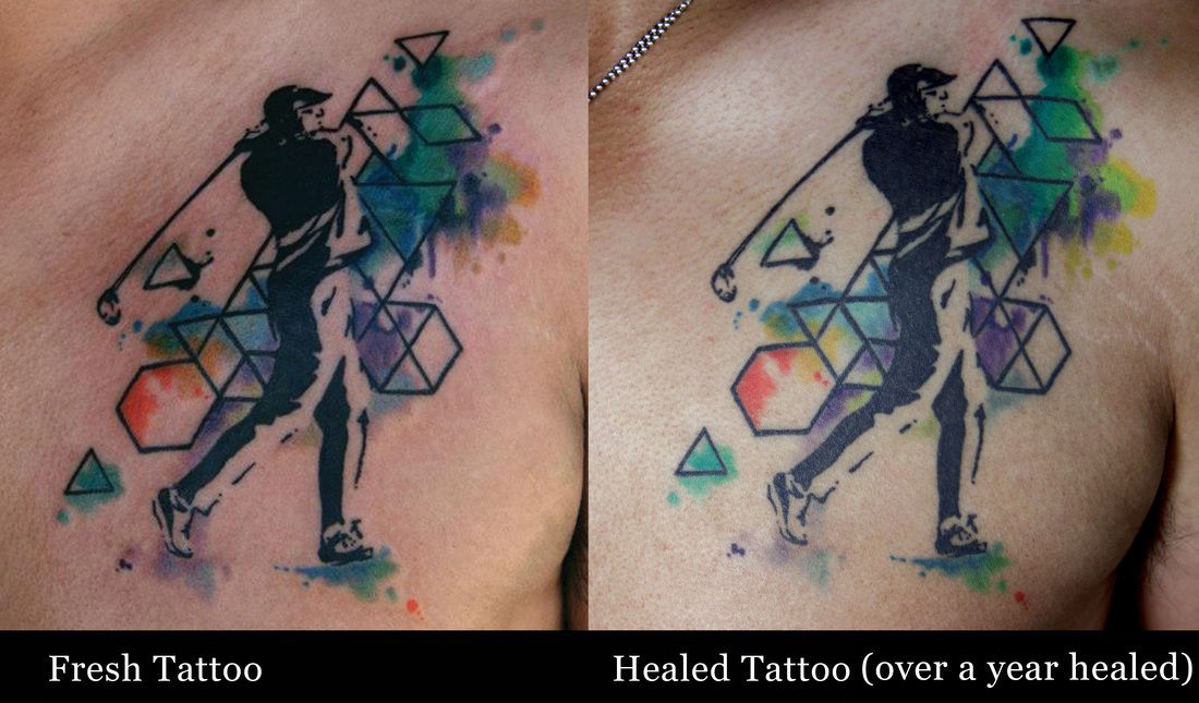 How will watercolor tattoos age? Watercolor tattoo