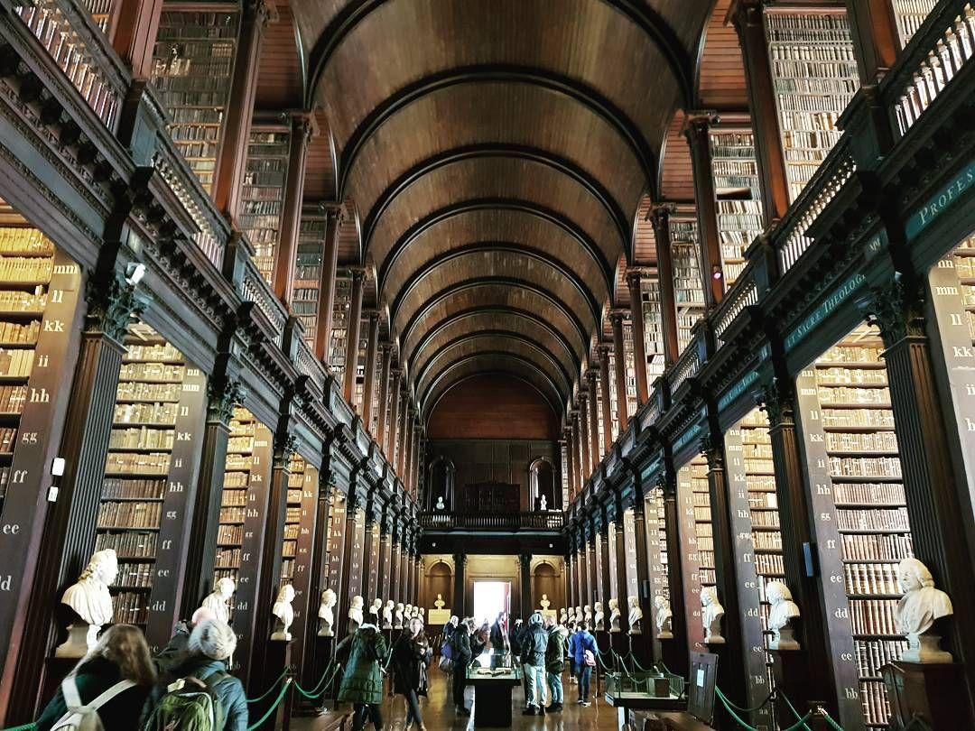 Trinity College Trinitycollege Dublin Ireland Irelande Holidays