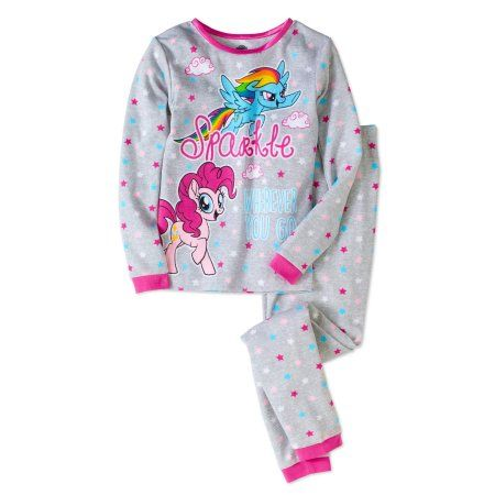 dc4ddbd5b3 My Little Pony Girls  Cotton Thermal Underwear 2pc Set