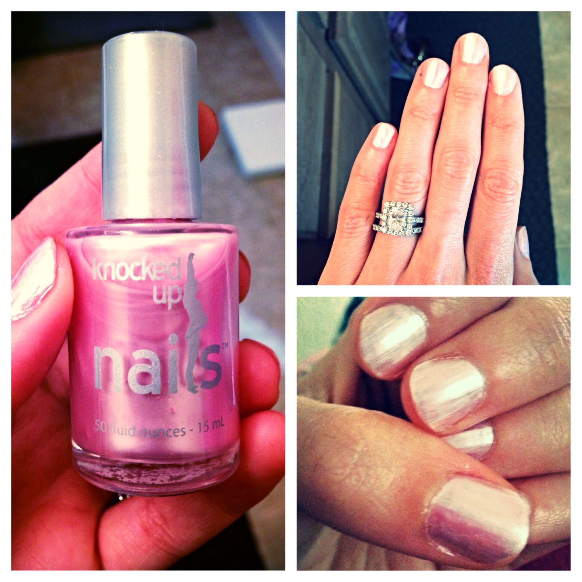 Nail polish designed for pregnant women, uploaded by @noragcaballero ...