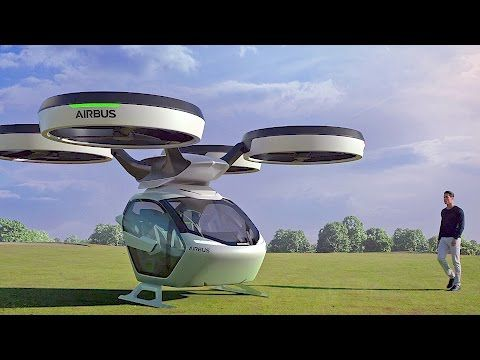 Pop Up Is A Car Drone Hybrid Concept Meant To Drive And Fly Flying Car Drones Concept Airbus