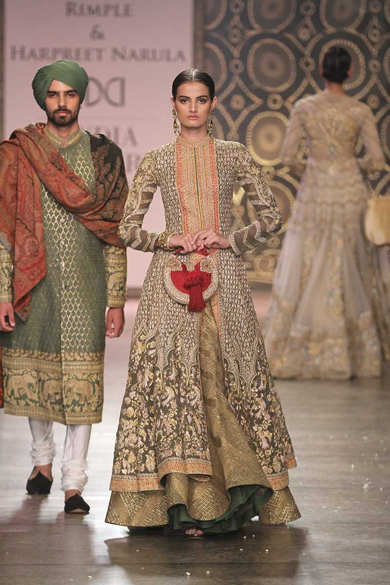057afcde8249 By designer Rimple and Harpreet Narula. Shop for your wedding trousseau