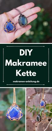 Photo of #DIY #chain #making #Macrame # same step by step video instructions: simple …