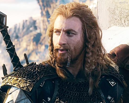 #Fili He's my favorite in The Hobbit!!!