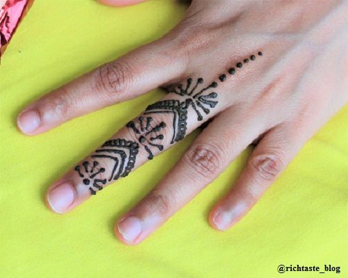 Easy Henna Tattoo Designs Henna Tattoo For Fingers This Is Inspired