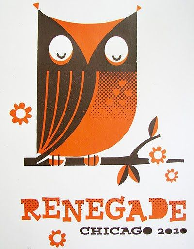 June Craft's Renegade Chi 2010 poster (we still have a couple of these, I think!)