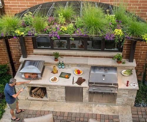 Attrayant The Outside Kitchen Island Truly Enhances The Value And Style Of Any Patio,  Deck Or Backyard. See Some Gorgeous Ideas For Your Inspiration Here!