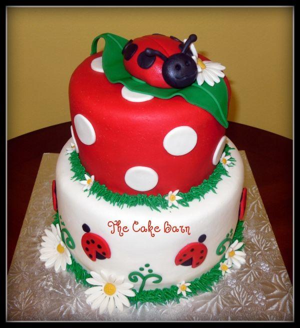 Ladybug Baby Shower Cake Blip 3 Pinterest Shower Cakes