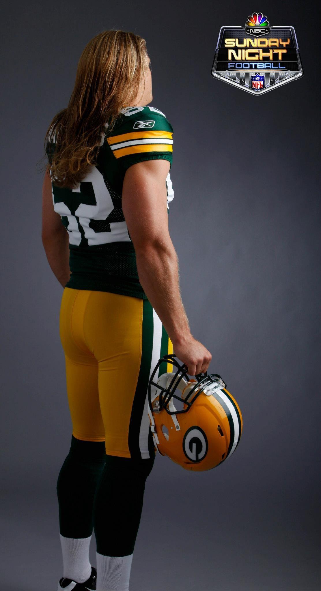 Clay Matthews Green Bay Packers Nbc Sports Edward Rieker Tags Sunday Night Football On Nbc Futbol Americano Futbol Empacadores