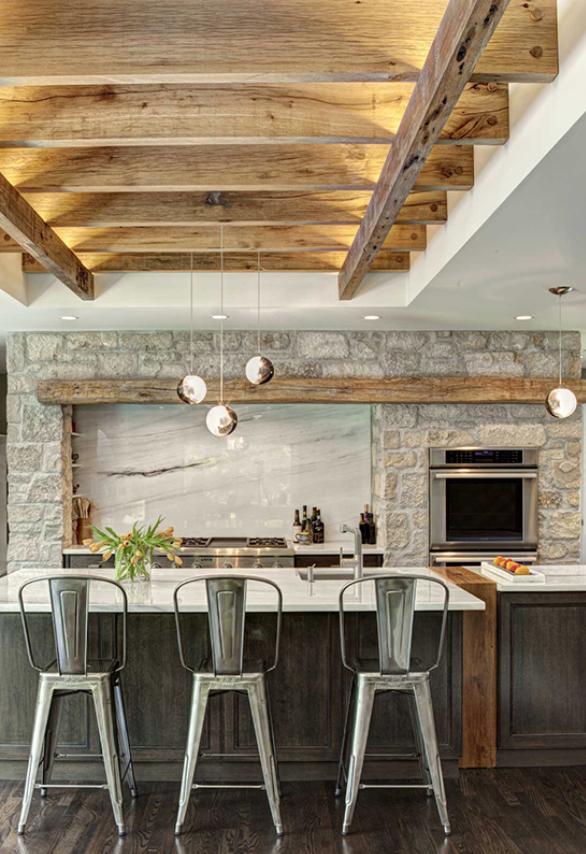 the 15 most beautiful modern farmhouse kitchens on pinterest modern farmhouse kitchens modern on kitchen interior farmhouse id=39446