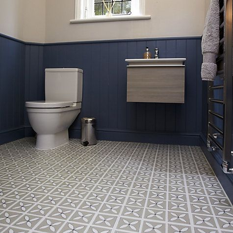 Dee Hardwicke For Harvey Maria Luxury Vinyl Floor Tiles Pebble Grey