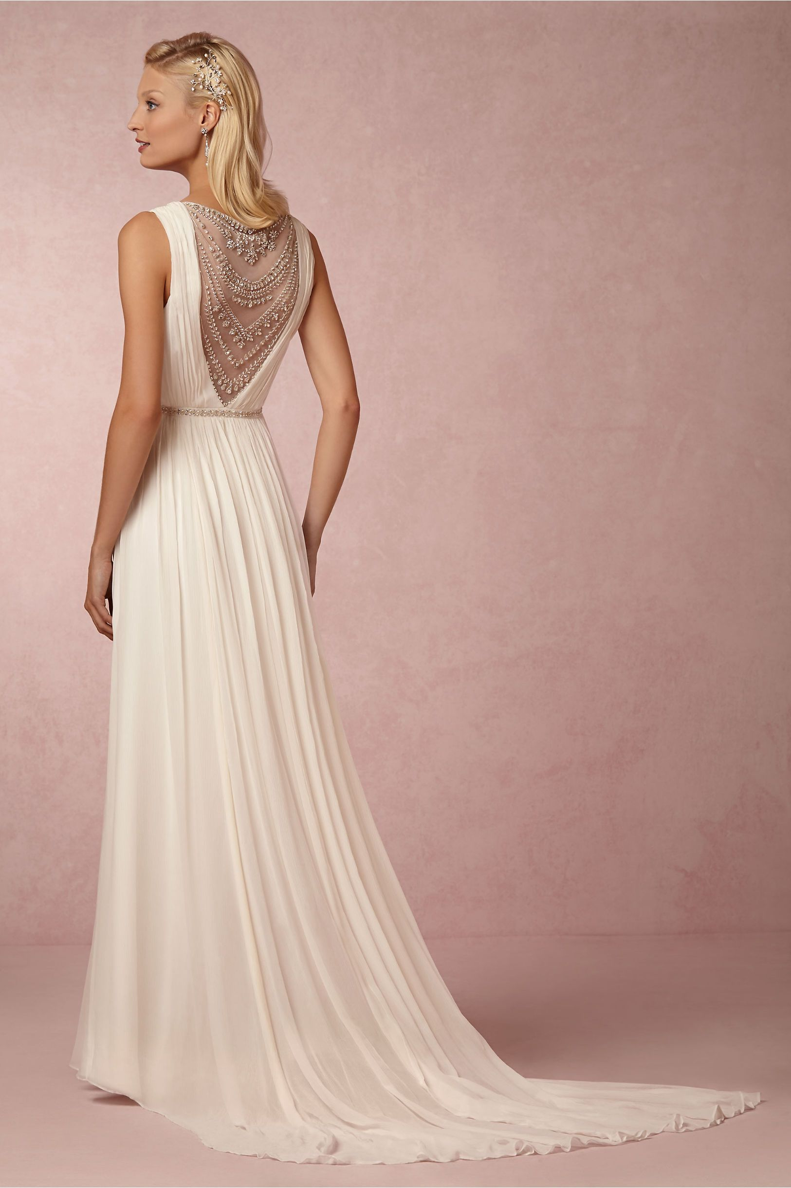 BHLDN\'s Nicole Miller Millie Gown in Ivory | Boda, Vestidos y Boda ...