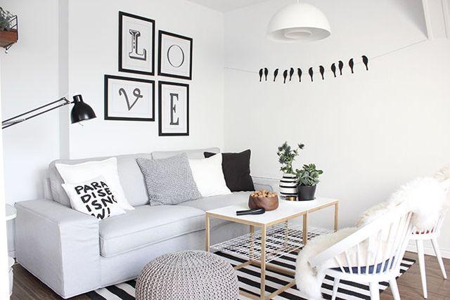 Mein neues Wohnzimmer für fast umsonst und ein weiteres megaeasy Herbst-DIY *piep piep* | oh what a room | Bloglovin'