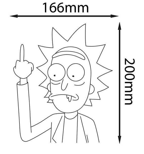 Pin by POTATO OVERLORD on RICK AND MORTY Pinterest Tattoo - fresh coloring pages rick and morty