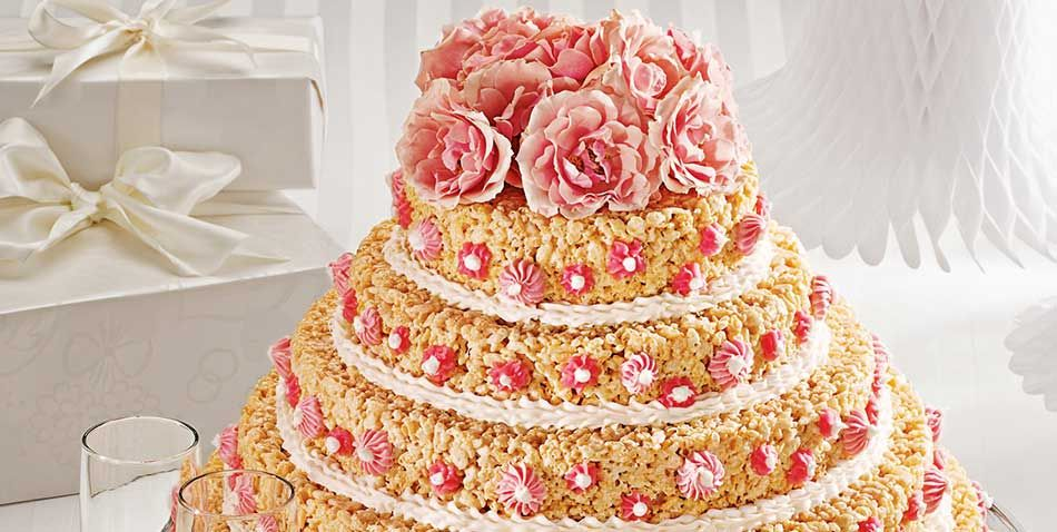 Wedding cake recipe rice krispies wedding cake and rice wedding cake ccuart Choice Image