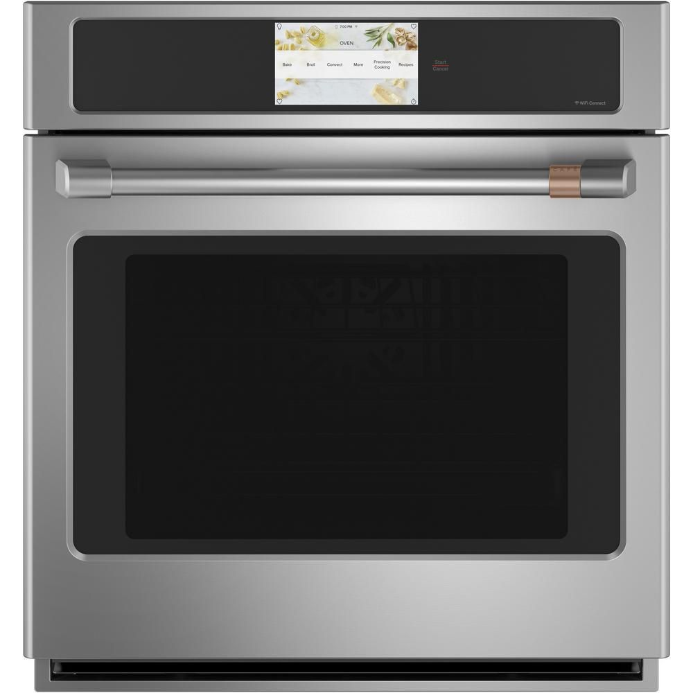 Cafe 27 In Smart Single Electric Wall Oven With Convection Self