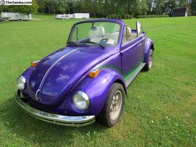 1977 Volkswagen Super Beetle For Sale   Chorleroi , Pennsylvania   Old Car  Online
