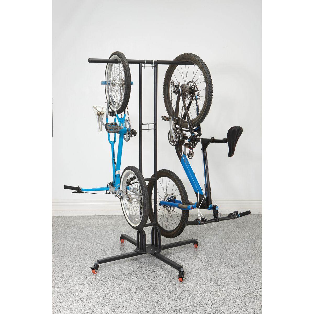 mobile bike storage fix it build it paint it pinterest range velo rangement et idee rangement. Black Bedroom Furniture Sets. Home Design Ideas