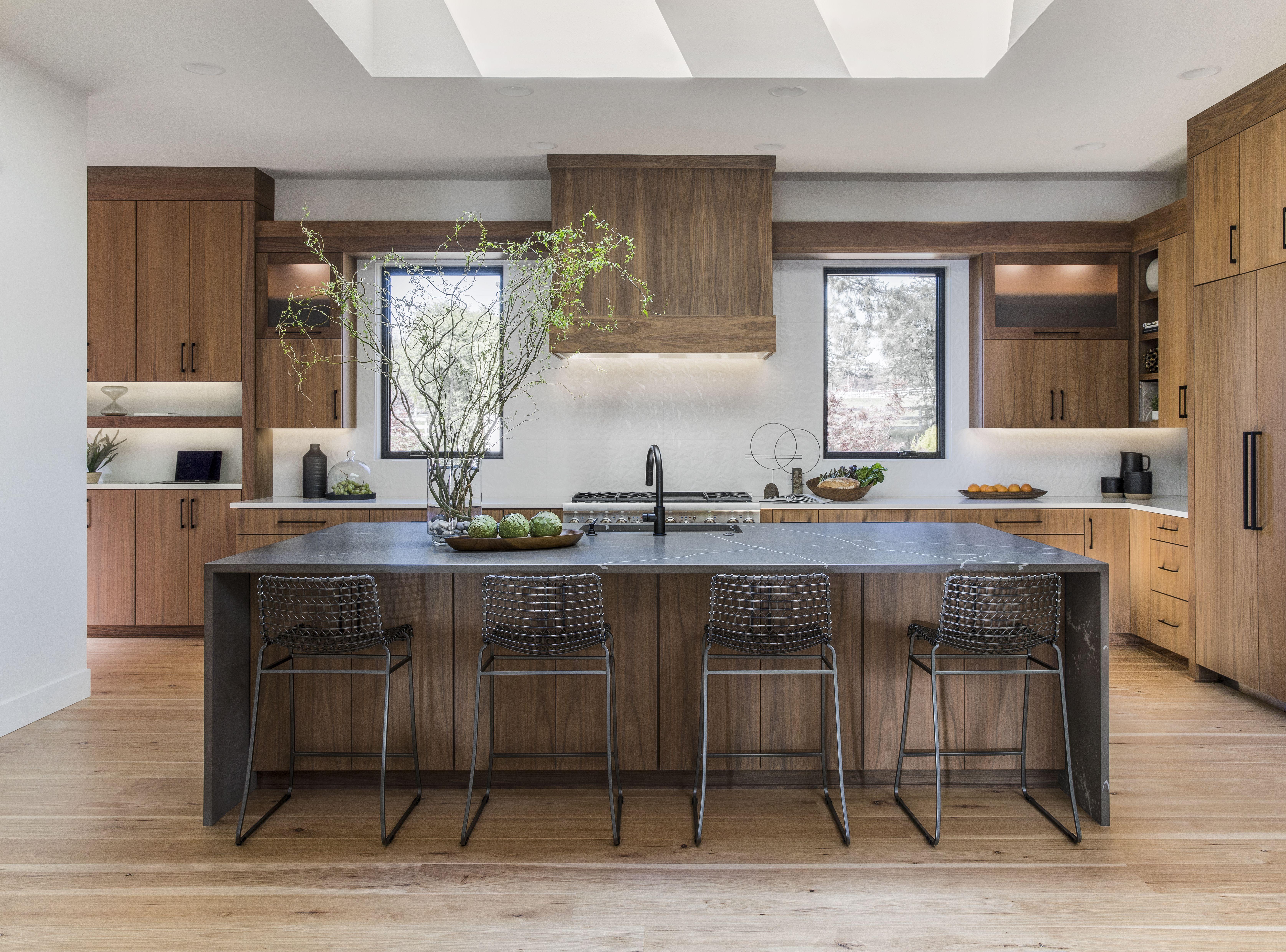 Modern Kitchen Modern Walnut Kitchen Walnut Kitchen Modern Kitchen