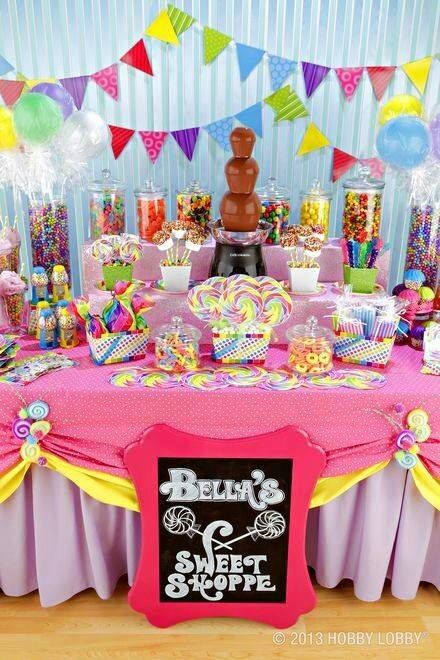 Pin By Lena Karamanli On Party Themes Candy Birthday Bar Land