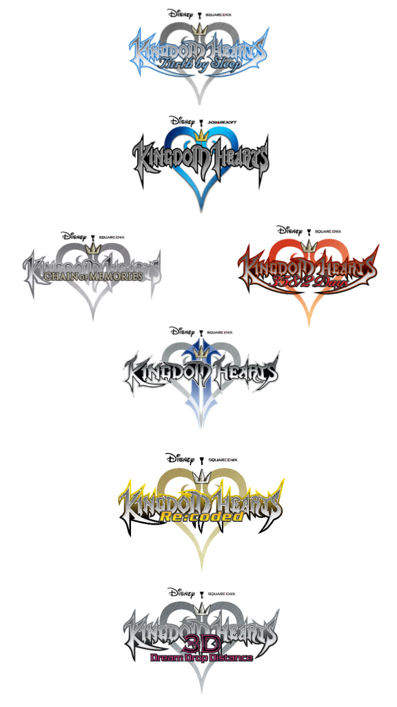 Kingdom Hearts timeline would sombody but me any of these? I already have one and two and chain of memory's.