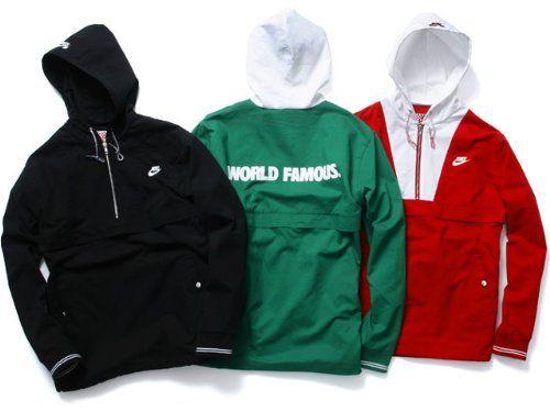 0f924af9faaa (ナイキ)NIKE SB×Supreme Twill Pullover Jacket  3カラー  ナイキ シュプリーム コラボモデル ブルーイン  エスビー プルオーバージャケット XL RED(並行輸入品)