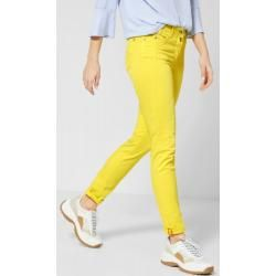 Cecil - Colour Hose im Casual Fit in Fresh Yellow Cecil