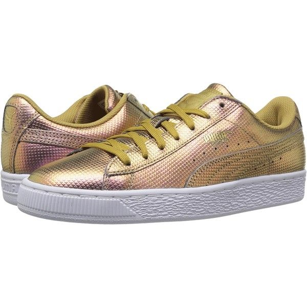 puma unisex sneaker basket classic holographic