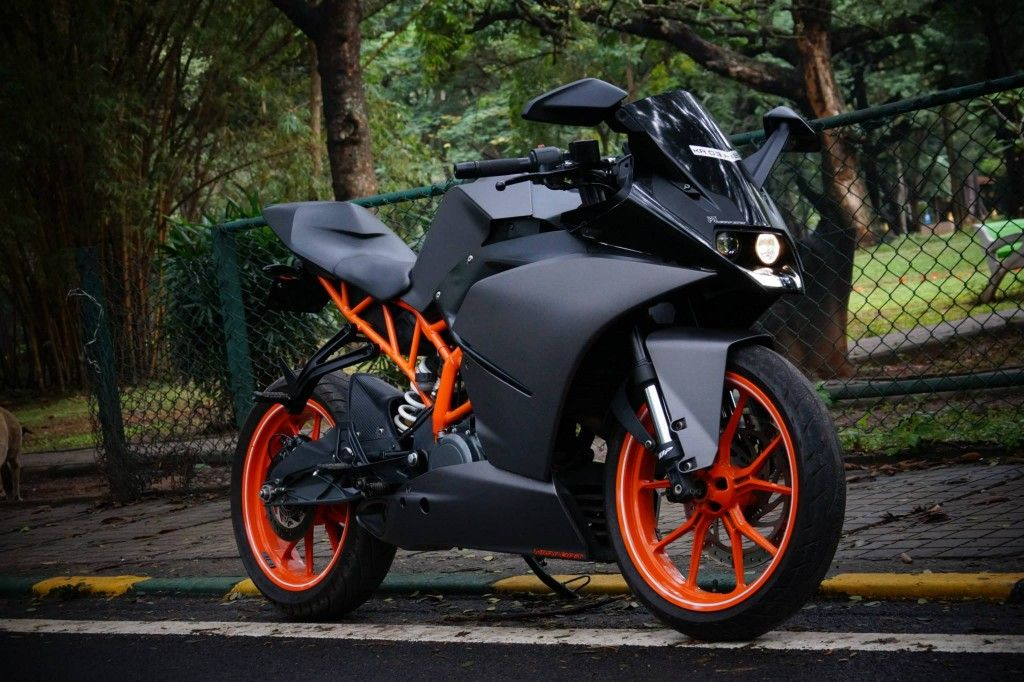 Mind Blowing Ktm Rc 390 Charcoal Grey Edition By Wrapcraft Ktm Rc Ktm Bike Pic Black ktm bike hd wallpaper pics