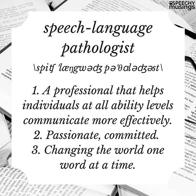 Speech Therapy Quotes I Am One Proud Speechlanguage Pathologist Slp Quotes  Pinterest