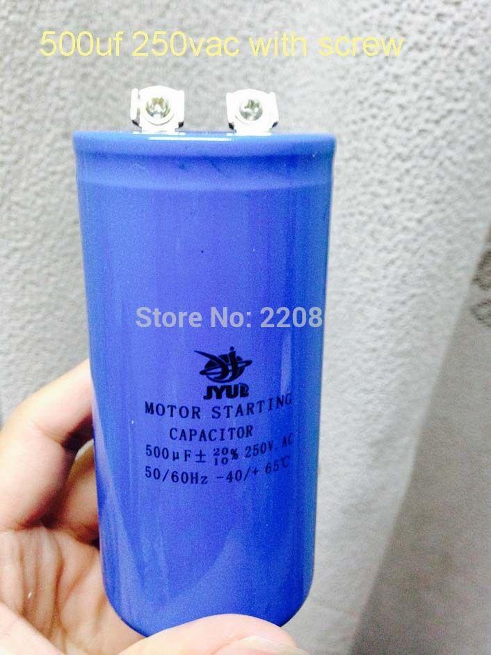 Quality Assurance Unpolarized Electrolytic Capacitor 250vac 500micro Farads 2 Pieces And 1000 Micro Farad 4 Cool Things To Buy Capacitor Electrolytic Capacitor