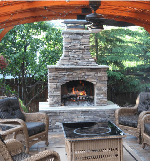 Outdoor Fireplace Kits With Images Outdoor Fireplace Kits