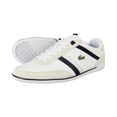 Lacoste Giron Leather Trainers - LeisurelyThreads
