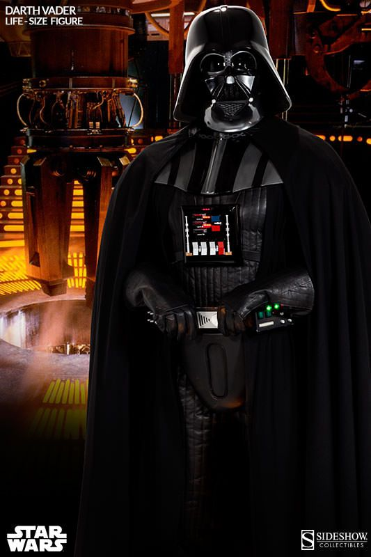 Star Wars Darth Vader Life Size Figure Pre Orders Go Live Toy Hype Usa Darth Vader Star Wars Poster Star Wars Artwork